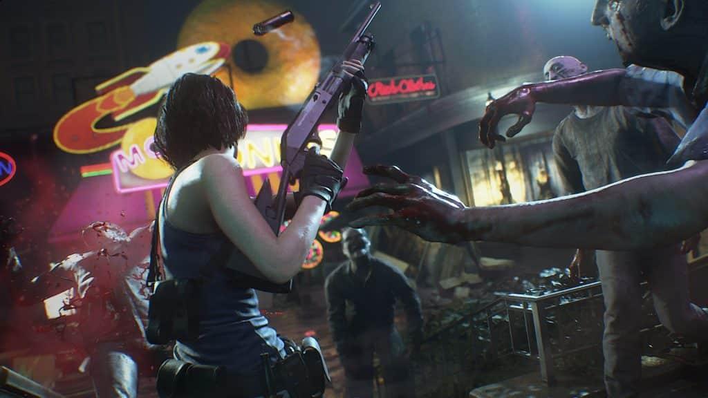 گیم پلی بازی Resident Evil 3