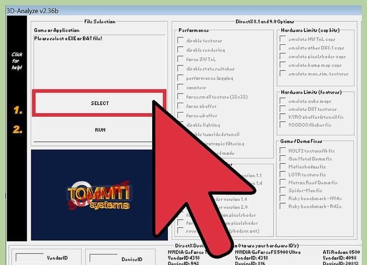 آموزش دانلود و نصب نرم افزار اجرا بازی های روز در سیستم های ضعیف ( 3D Analyze )