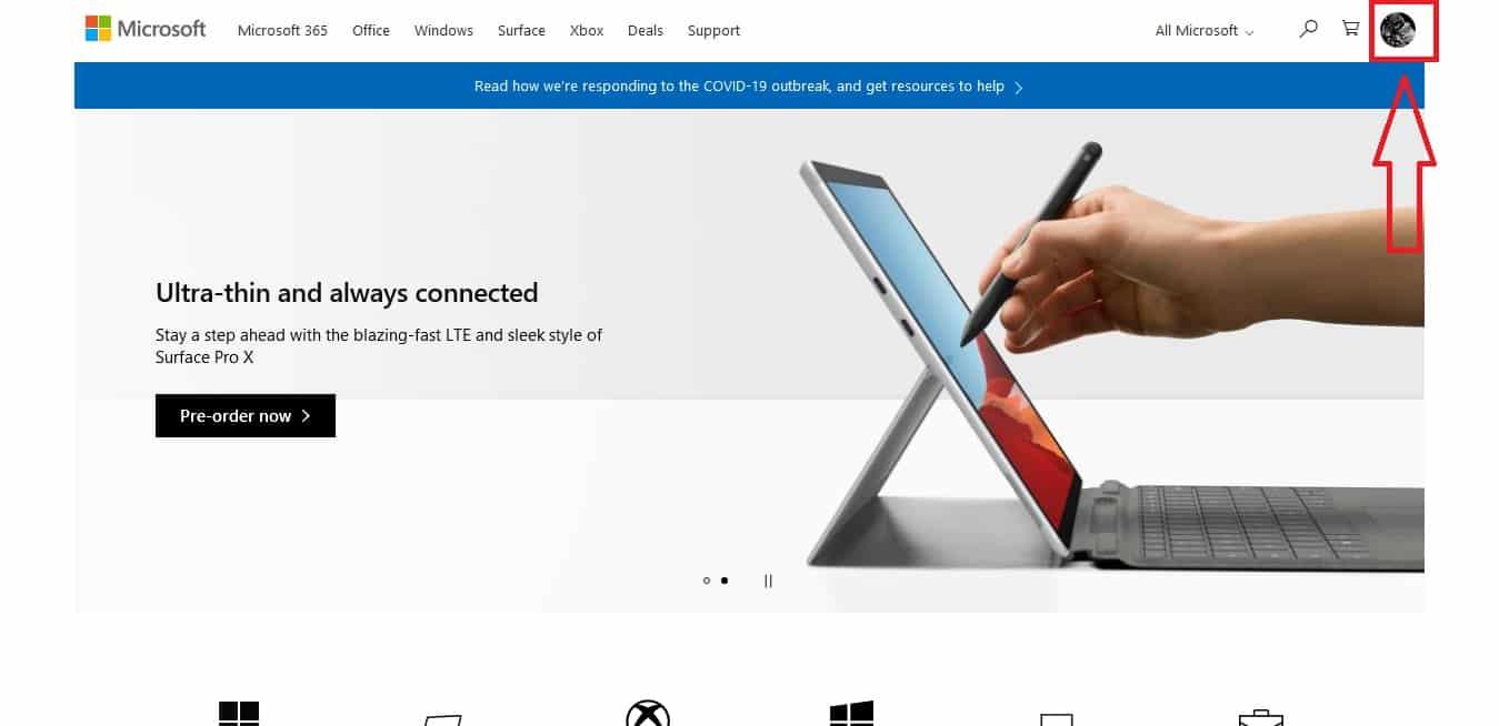 آموزش خرید از Microsoft Store (روش مستقیم)