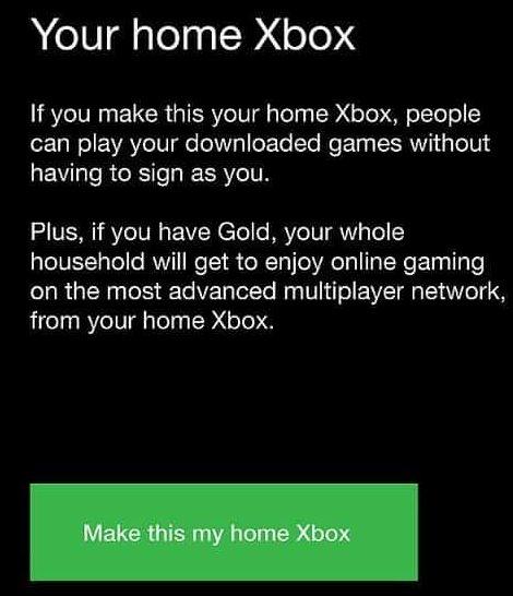مزایای هوم کردن اکانت بر روی کنسول Xbox One